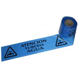 CINTA DE SEÑALIZACIÓN TUBERÍA AGUA