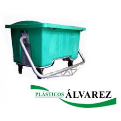 CONTENEDOR CADAVERES COMPLETO 950 L