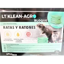 BLOQUE RATICIDA LT KLEAN-AGRO (CUBO 5 KG)