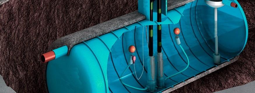 Depósitos de agua (polietileno y poliester)
