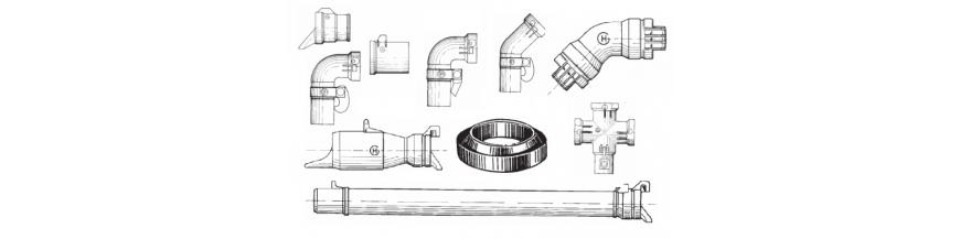 Tubos de aluminio y accesorios