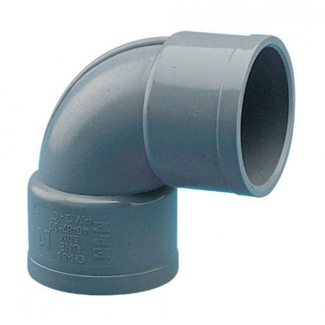 CODO PVC DESAGÜE H-H 90º