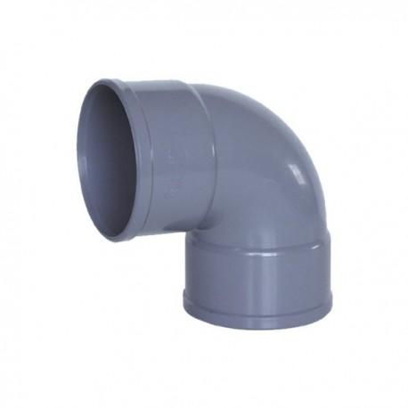 CODO PVC DESAGÜE H-H 87º
