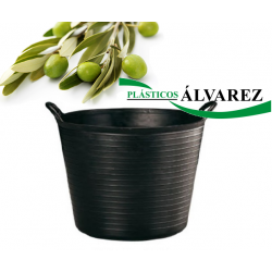 CAPAZO / ESPUERTA GOMA 40 LITROS