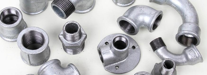 Accesorios hierro galvanizado